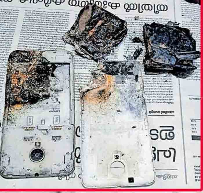 Mobile phone explodes while running; The out-of-control autorickshaw crashed into a power pole, Kannur, News, Local News, Mobile Phone, Auto & Vehicles, Auto Driver, Injured, Accident, Kerala