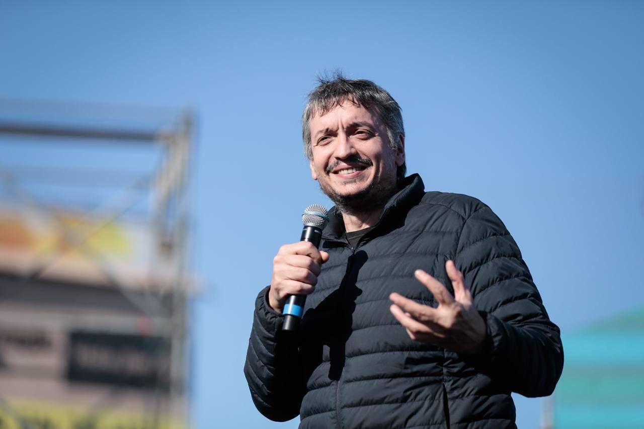 Maximo Kirchner habló sobre la derrota de las PASO 2021