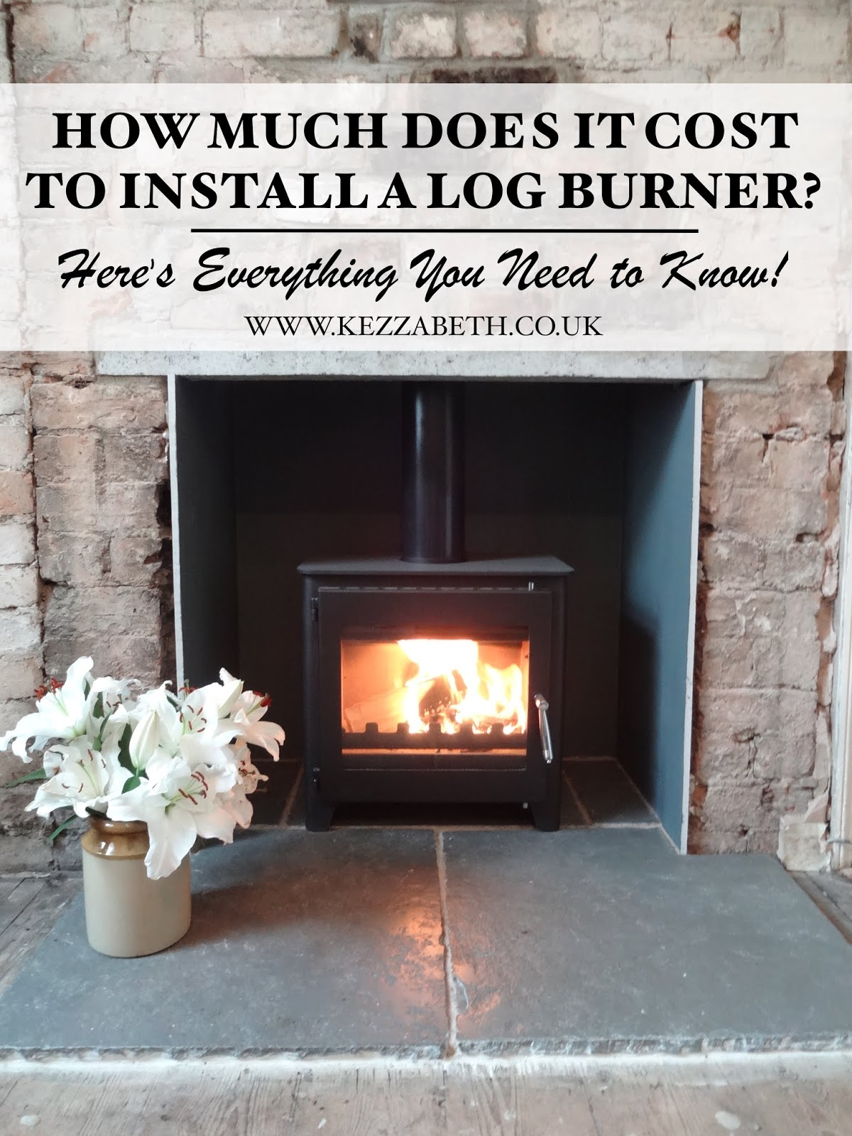 How much does it cost to install a wood burner?