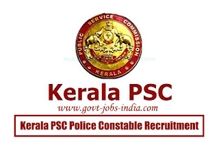 How to Apply Kerala PSC Police Constable Vacancy 2020