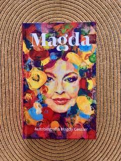 """Magda. Autobiografia Magdy Gessler"" Magda Gessler, Dominik Linowski, fot. paratexterka ©"