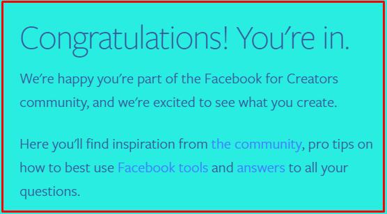 Facebook Creators से पैसे कमाने के लिए उसमे Registration कैसे करे