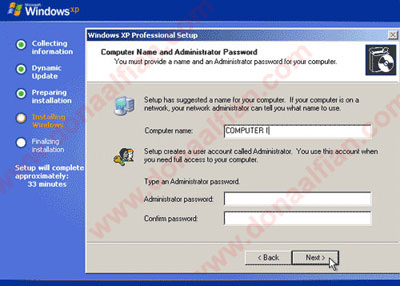 how to install windows xp on a ps3