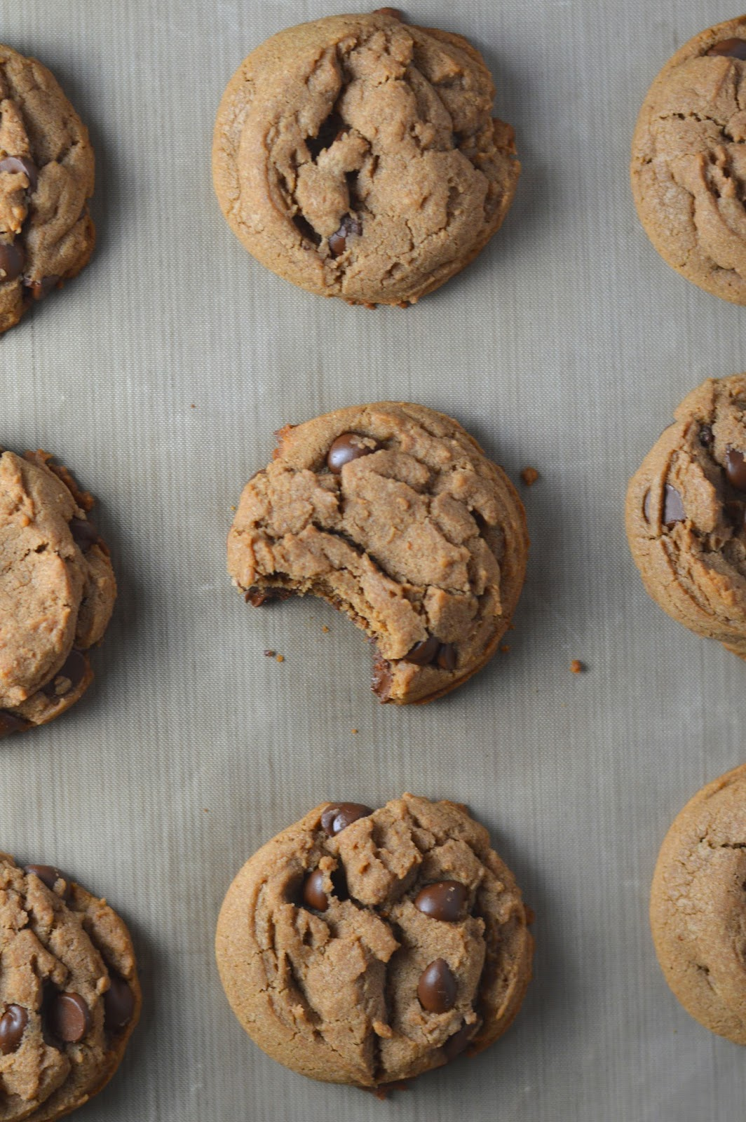 Squishy Chocolate Chip Cookies : Soft Nutella Chocolate Chip Cookies
