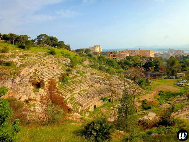 Roman amphitheatre of Cagliari | Sardinia, Italy | wayamaya