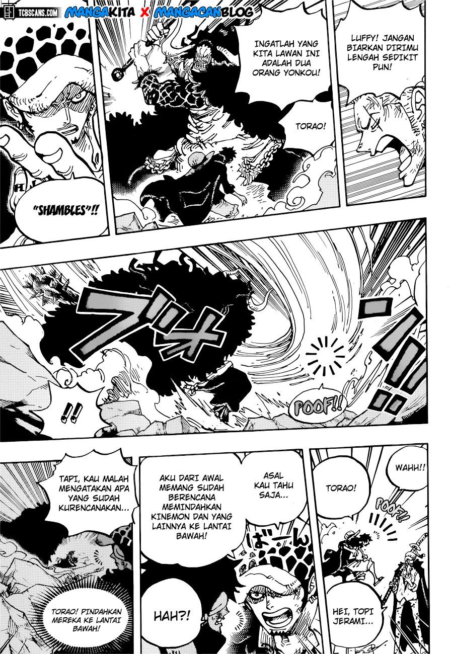 Manga One Piece Chapter 1001 Bahasa Indonesia