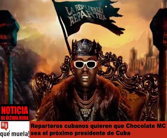Reparteros cubanos crean un nuevo partido político y proponen a Chocolate MC como Secretario General