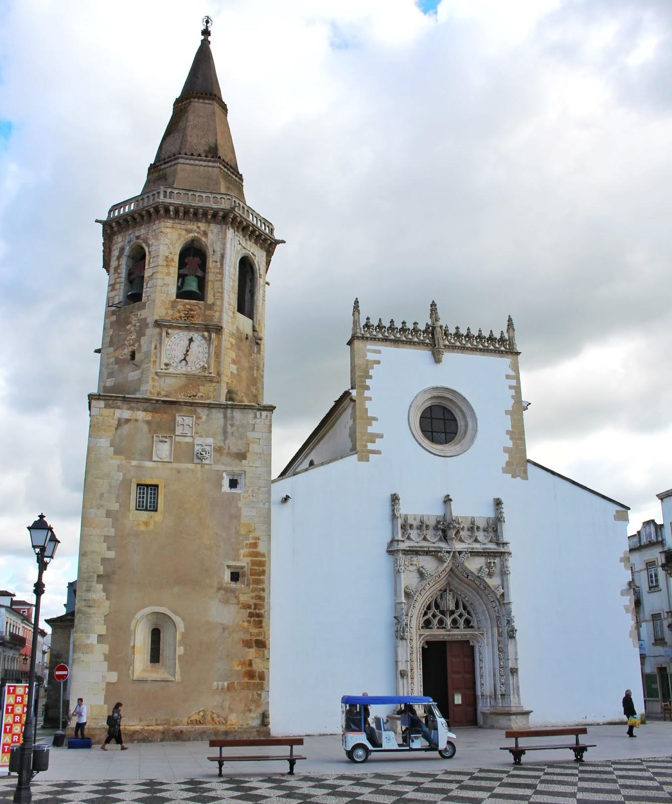 Igreja São João Batista, Praça da República, Tomar