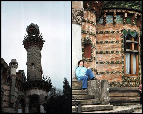 Edificio de El Capricho realizado por Antonio Gaudí en Comillas, Santander.