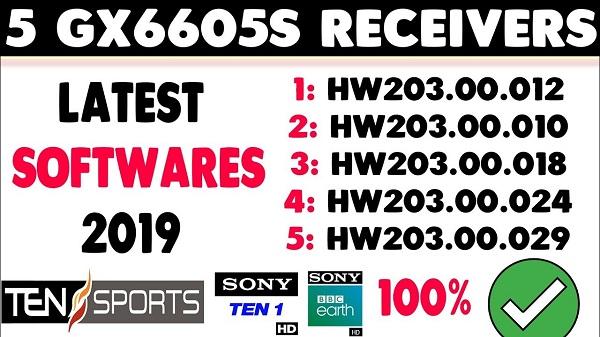 Gx6605s Hw203 00 019 Hd Receiver Cline Ok New Software 2019