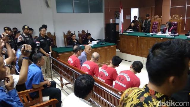 Divonis Mati, 4 WN China Penyelundup 1,6 Ton Sabu Ngamuk di PN Kota Batam