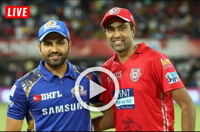 MI vs KXIP IPL 2019 MATCH LIVE