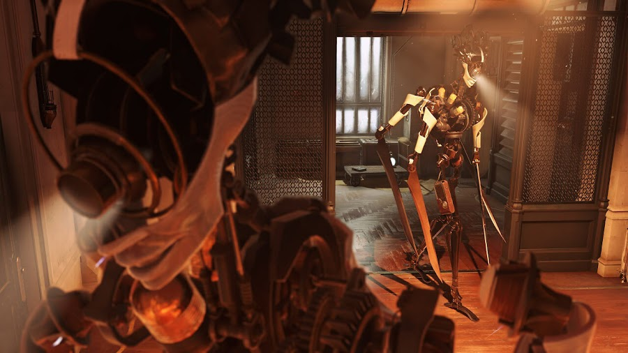 dishonored death of the outsider clockwork soldier