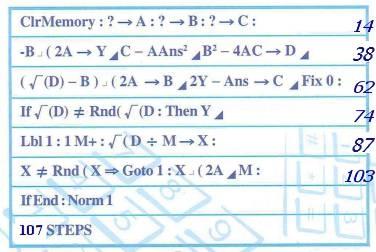 DSE數學核心課程CORE文憑試計算機程式攻略(CASIO fx-50FH & FH II) Part I ...