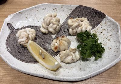 活魚料理 魚榮(さかえ) たら白子焼き
