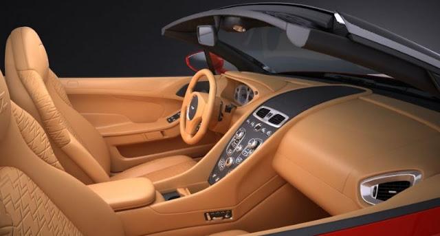 2017 Aston Martin Vanquish Zagato Volante Interior