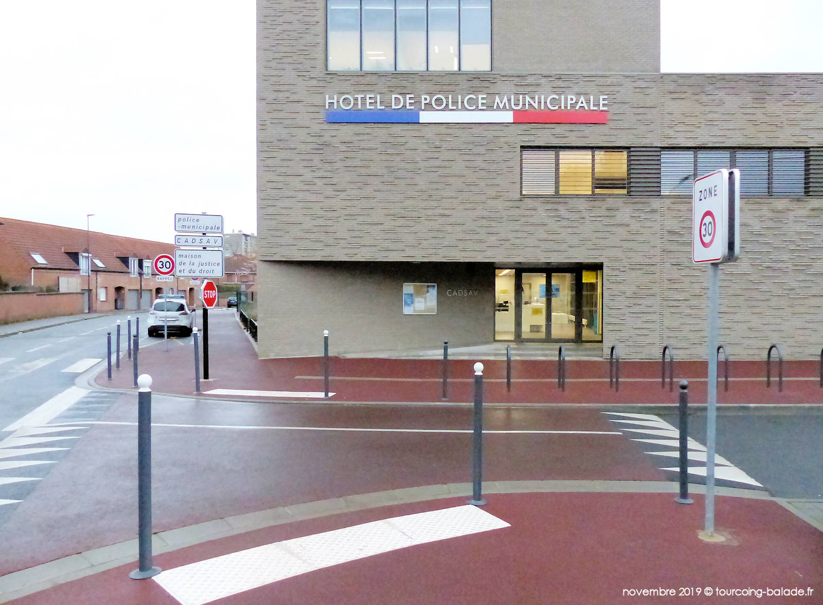 Hotel Police Municipale, Fourrière - Tourcoing