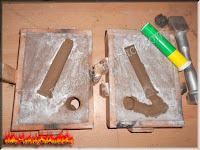 sand casting suppressor mould