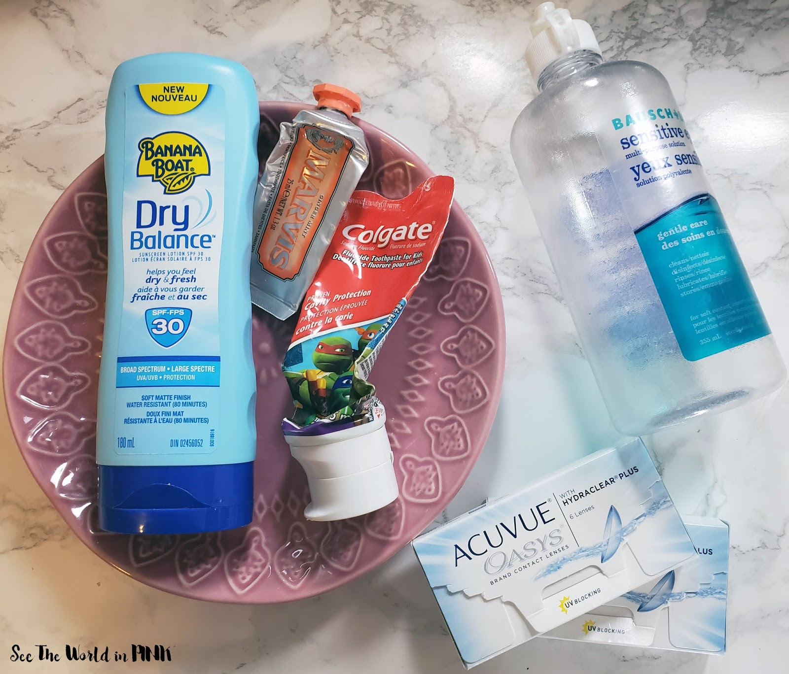 October 2019 -  Monthly Empties!