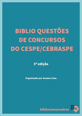 Biblio Questões de Concursos do Cespe