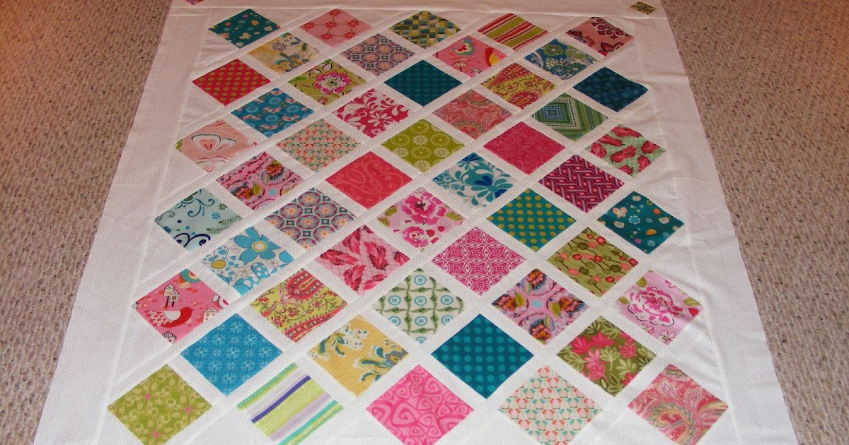 Coloradolady Baby Girl Quilt Baby Lattice Quilt Pattern