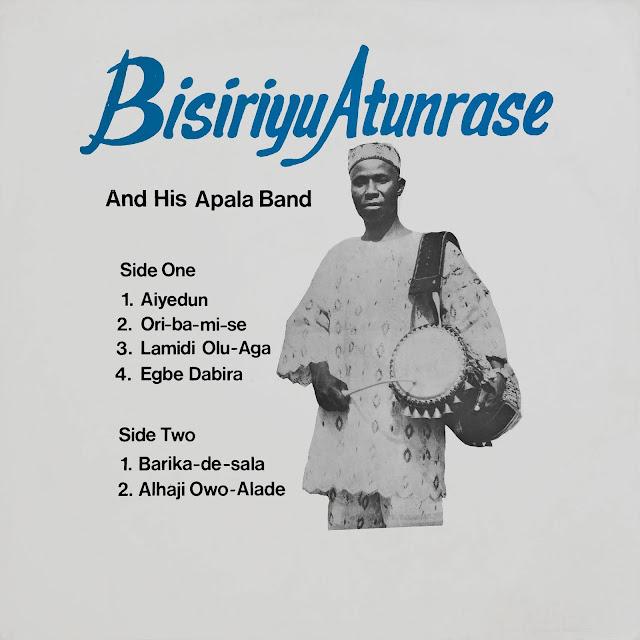 #Nigeria #Yoruba #Apala #music # Bisiriyu Atunrase #traditional music #African music #talking drums #gan gan #vinyl #musique africaine #LP #world music #sekere #agogo #agidigbo #polyrhythm #praise music #Yoruba Culture #Yorouba #vinyl #rarevinyl #MusicRepublic