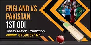 Pak vs Eng 1st ODI Match 100% Sure Today Match Prediction Tips