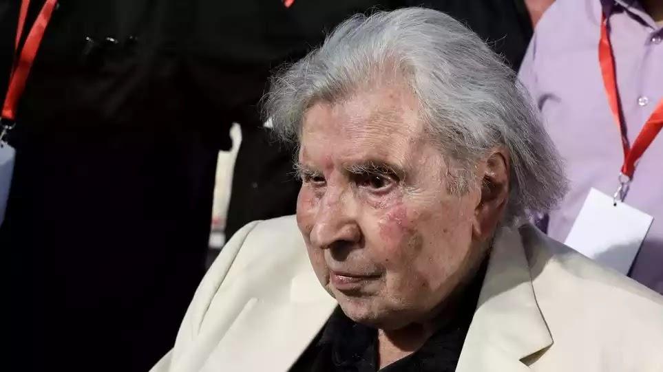 Ο πρώην Αρχηγός  του ΚΚΕ που έκανε γενοκτονία  Θεοδωράκης: Δεν τελείωσε ο αγώνας κατά του φασισμού