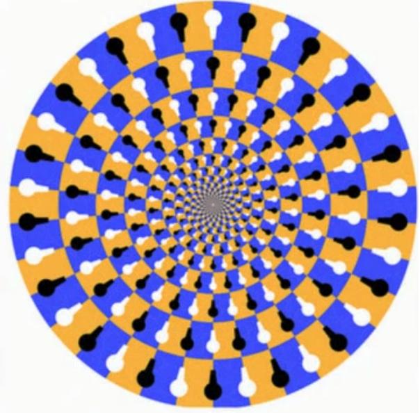 optical illusion shapes geometric created
