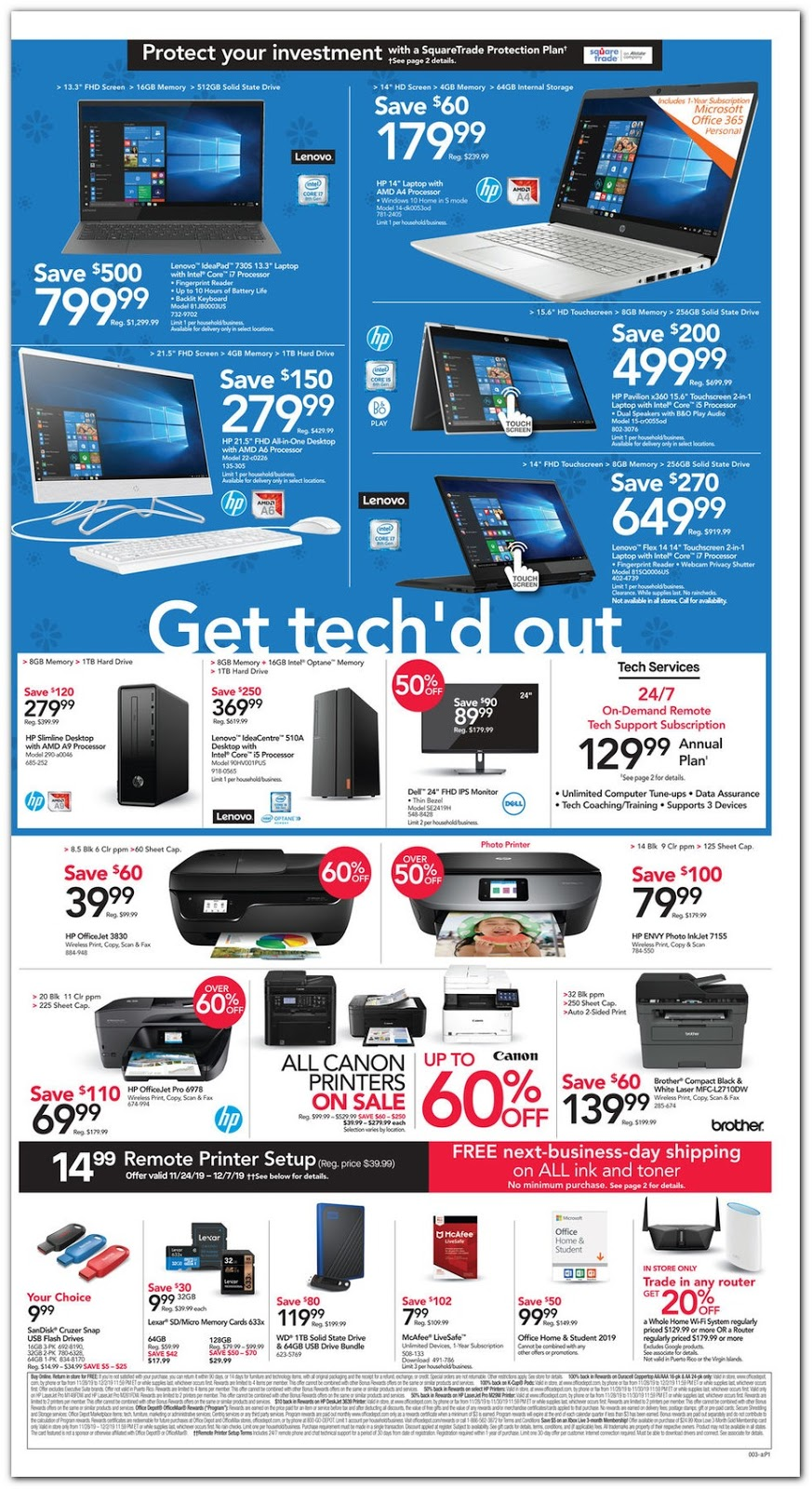Office Depot® & Officemax® Black Friday 2019 page 3