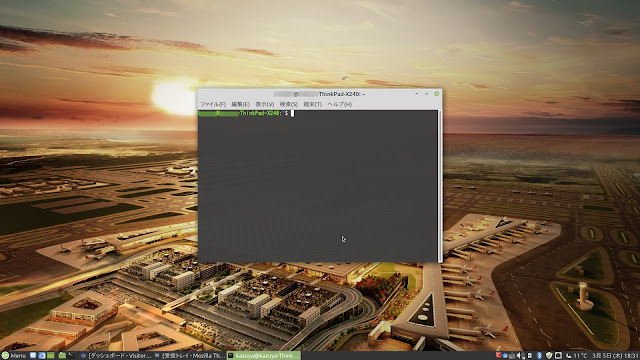 Linux Mint デスクトップイメージ