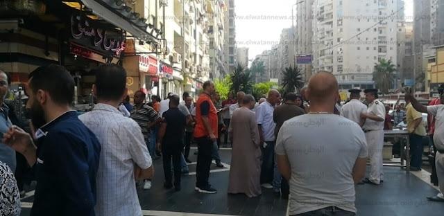 إغلاق المطعم السوري بالشمع الأحمر استجابة لاستغاثة سيدة الإسكندرية