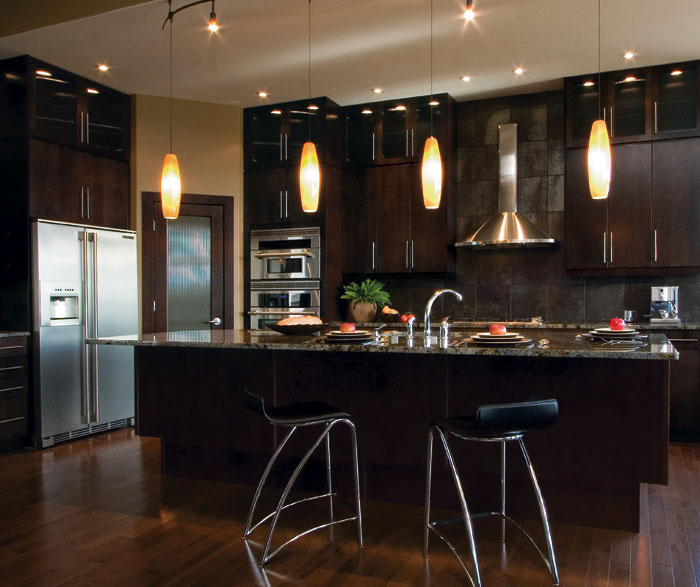 30 Modern Brown Chocolate Painting Kitchen Cabinets