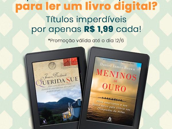 E-books da Editora Arqueiro e da Editora Sextante por 1,99