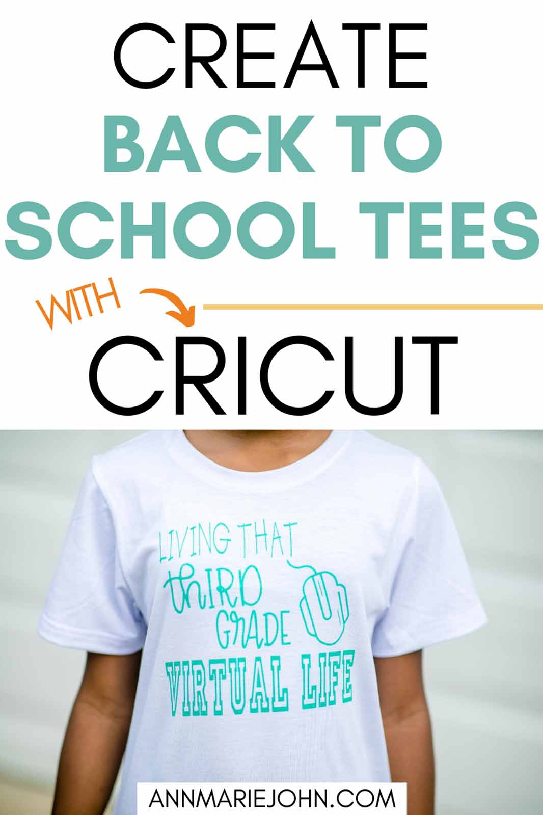 Make Your Own Unique Back to School Tees with Cricut