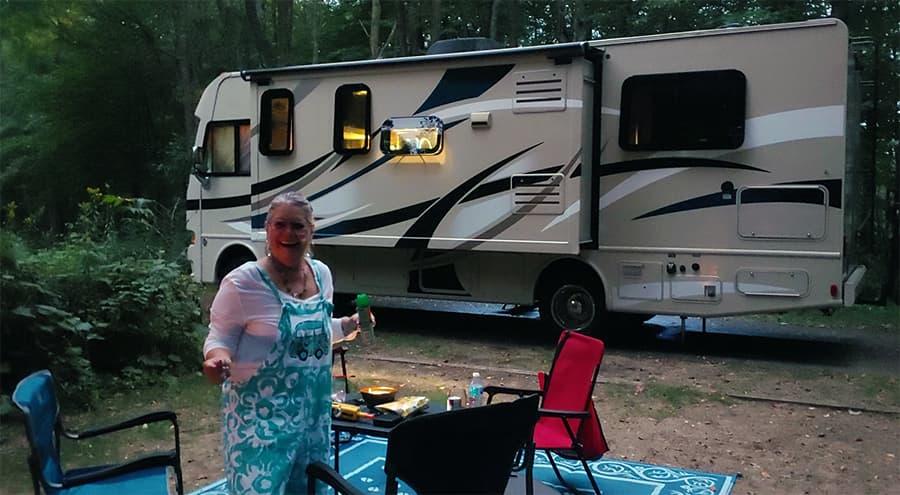 Kalamity Karla at Camp