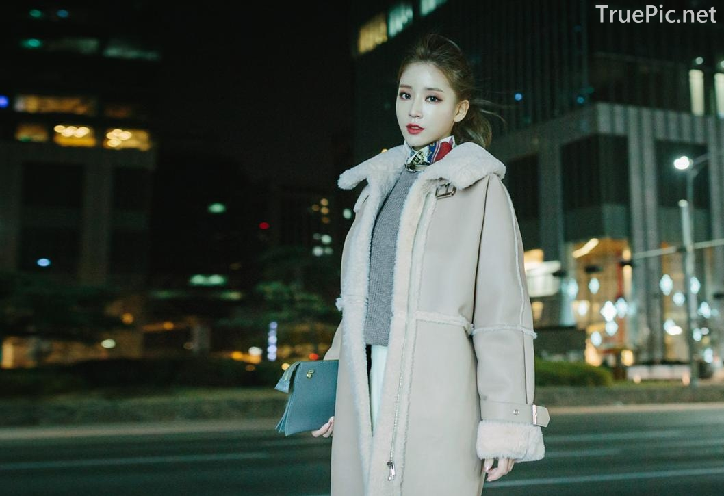 Korean Fashion Model - Kim Jung Yeon - Winter Sweater Collection - TruePic.net - Picture 10