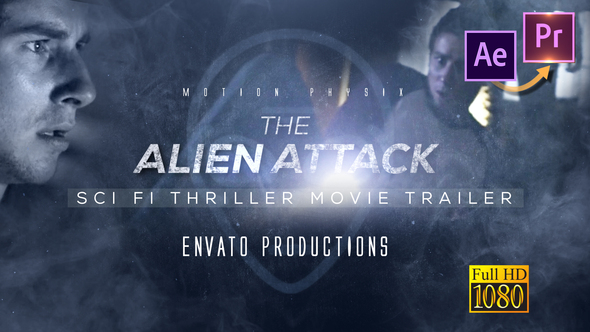 Scifi Thriller Movie Trailer - Premiere PRO