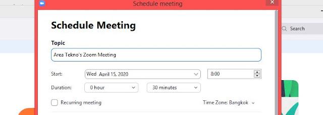 Cara Membuat Zoom Meeting Lebih dari 40 Menit