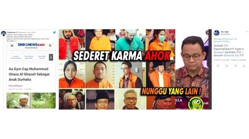 Aa Gym dan Teh Ninih Menggila Dikaitkan dengan Karma Ahok: Satu-persatu Dipermalukan!