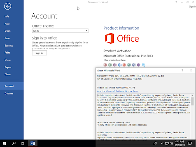 Microsoft Office 2013 SP1 Pro Plus Updated