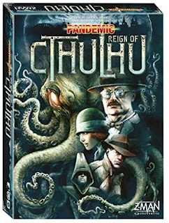 Pandemic Reign of Cthulhu board game