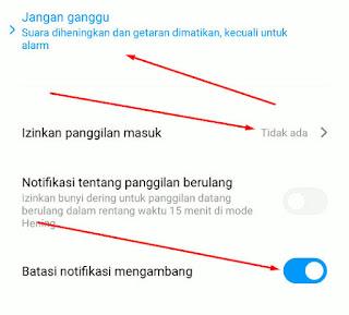 Mengaktifkan Do Not Disturb (DND) Mode Agar Tidak Ditelepon