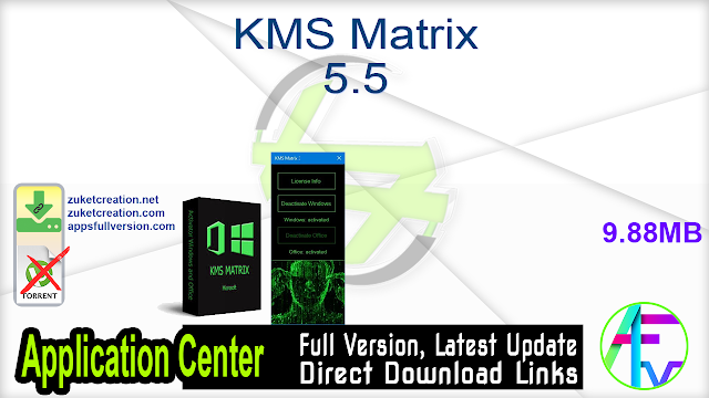 KMS Matrix 5.5