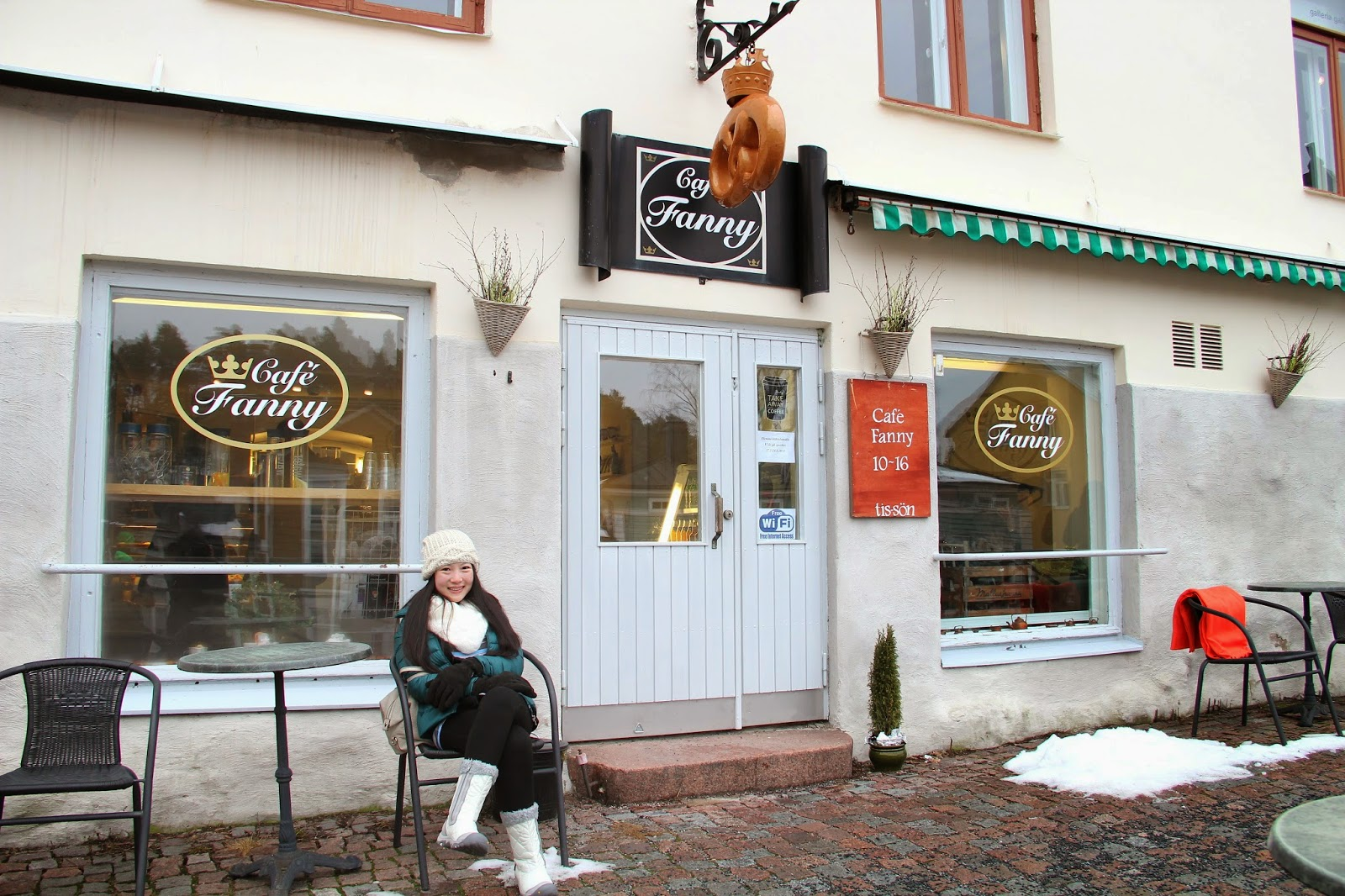 Cafe Fanny in Porvoo, Finland