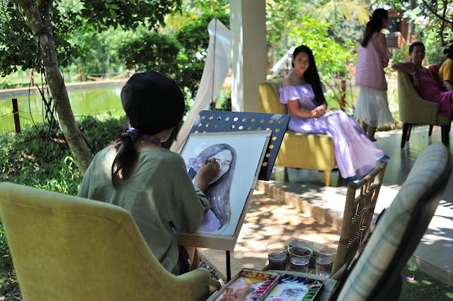 Workshop dạy vẽ tranh cho trẻ em
