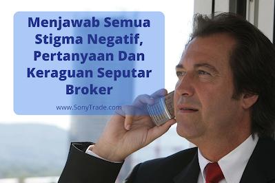 broker belajar trading saham forex itu bandar curang trader investor melakukan penipuan