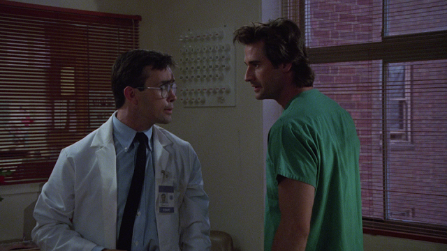 Bride of Re-Animator Arrow Blu-ray screen cap Jeffrey Combs and Bruce Abbott