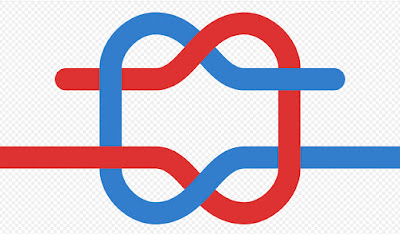 64A: KNOT