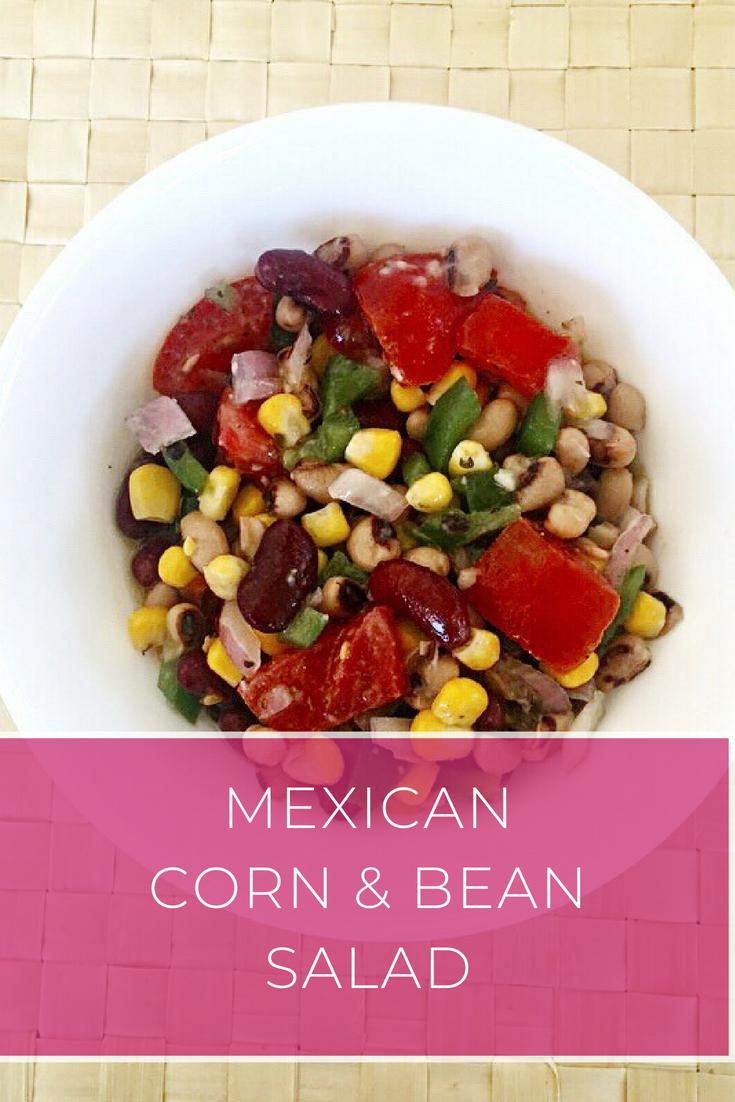 Ελαφριά Μεξικάνικη Σαλάτα με Φασόλια και Καλαμπόκι: Μια πανεύκολη και γρήγορη συνταγή για γευστική σαλάτα γεμάτη χρώματα | Ioanna's Notebook